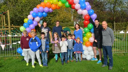 Seething play park is officially opened. Picture: South Norfolk Council