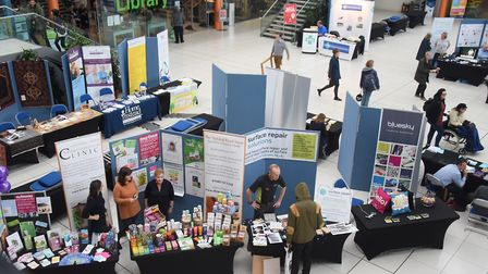 The FSB's Small Business Expo at the Forum. Picture: DENISE BRADLEY