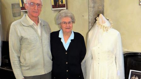 Attleborough Heritage Event - A Lovely Day for a Wedding, David and Brenda Tinsey who got married in