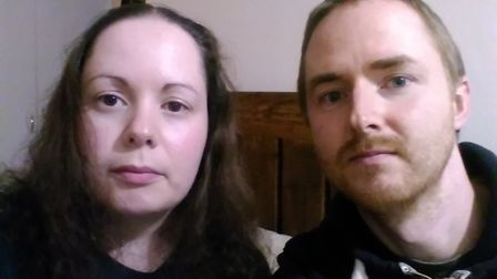 Joe and Charity Bernice, from Downham Market, are trying to raise £2,000 in order to build their dre