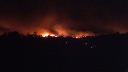 On October 15, 2017 Portugal was hit by a number of large forest fires. Joe and Charity Bernice, fro