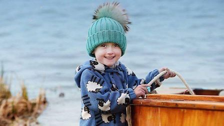 Young Kaiden Griffin. Picture: FAE LOUDON.