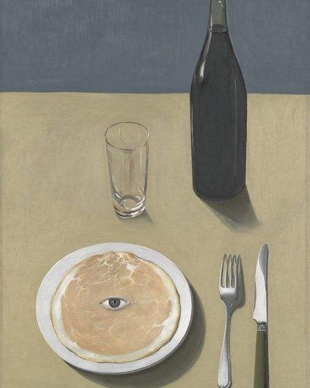 Ren� Magritte 1898-1967, The Portrait, 1935, Oil on canvas, 73 x 50cm Museum of Modern Art, New Y
