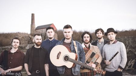 Sam Kelly & The Lost Boys who are performing at Norwich Arts Centre. Photo: Rob Bridge