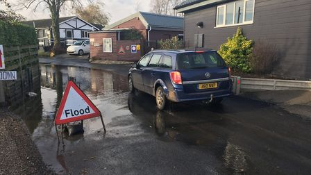 Business and residents are concerned about flooding along Ferry Road in Horning. Picture: ANDREW STO