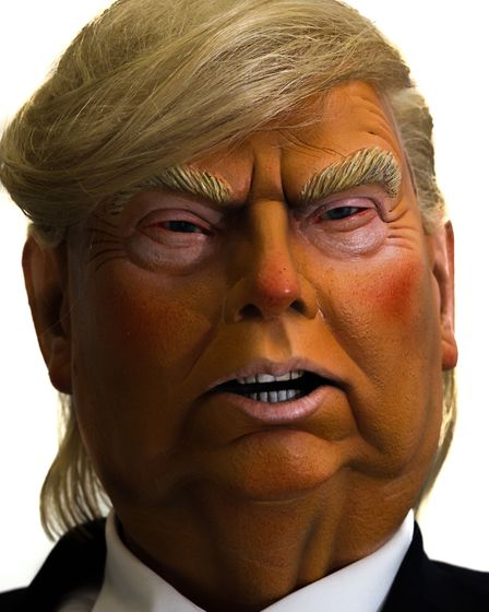 Donald Trump puppet by the satirist Roger Law, which will go on public display for the first time in