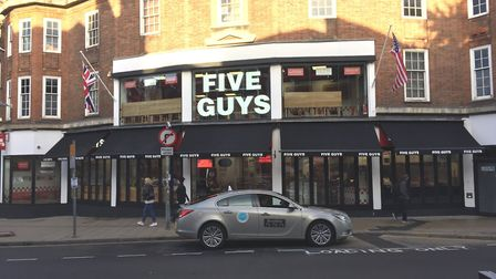 Five Guys in Norwich. Picture: Archant