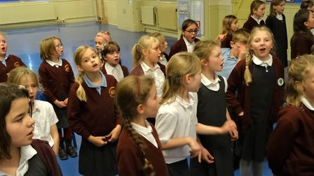 Children in the year three and four choir at Browick Road Primary School have been enjoying extra si
