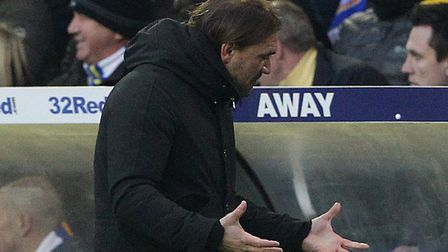 Norwich City's 1-0 Championship defeat at Leeds United prompted fresh frustration for head coach Dan
