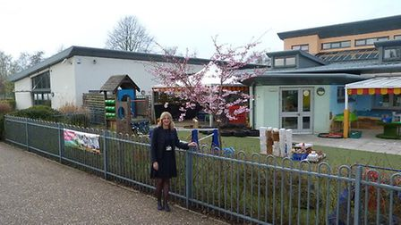 Paula Jones, head of school, outside Edith Cavell Academy. Picture: Right for Success