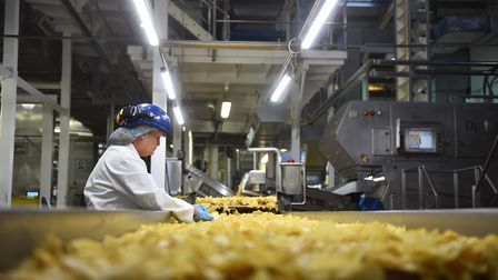 Kettle Foods factory in Bowthorpe. The firm's parent company Snyder's-Lance has been bought in a $4.