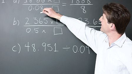 A teacher in a classroom. Picture: Thinkstock