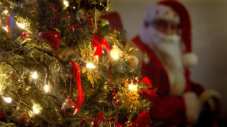 Generic picture of Santa, Father Christmas and Christmas tree. Photo: Angela Sharpe Copy: For: E