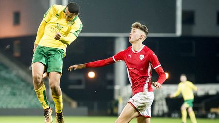 Adam Idah made his debut for Norwich Under-23s against Brighton. Picture: Matthew Usher/Focus Images