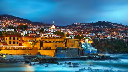 Funchal in Madeira, one of the destinations now accessible through chartered short breaks from Norwi