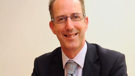 Vice-chancellor of the University of East Anglia, David Richardson. Picture: Denise Bradley