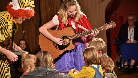 My First Panto at The Garage, Little Red Riding Hood. Byline: Sonya Duncan Copyright: Archant 2017