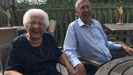 Brian and Jean Mitchell pictured before the incident, Photo courtesy of Graham Mitchell.