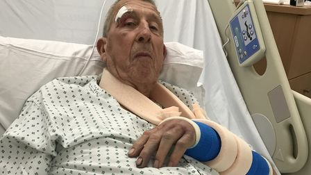 Brian Mitchell, 86, suffered a number of serious injuries in a Lowestoft hit and run incident in Nov