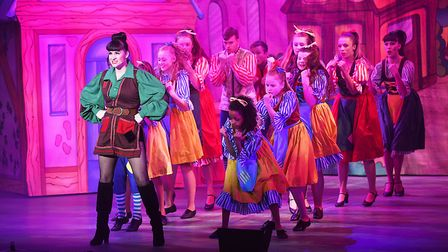 Rebecca Lisewski is excellent in the lead role of Jack and the Beanstalk at the Alive Corn Exchange