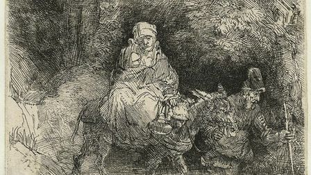 Rembrandt: Lightening the Darkness is at Norwich Castle Museum & Art Gallery until January 7 2018. P