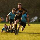 Southwold's Callum Anthony in full flight during his side's win at Woodbridge. Picture: Linda Cayley