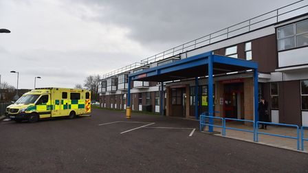 The incident happened near the James Paget Hospital. Picture Sonya Duncan