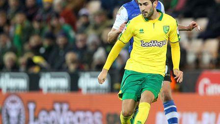 Mario Vrancic has been a busy figure in Norwich City's midfield - including Saturday's win over Shef