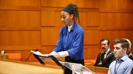 Springwood School Mock Trial team took part in the New York mock trial championships and won third p