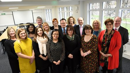The central management team at the Diocese of Ely Multi-Academy Trust. PIcture: DEMAT