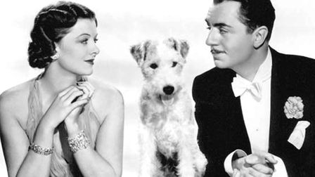 Noel noir - Myrna Loy and William Powell in The Thin Man. Picture: Wikipedia