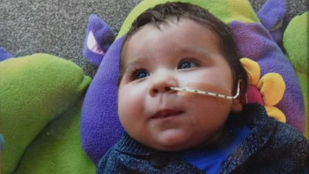 James Thorndyke died earlier this year just before his 1st birthday following a battle with SCID. Pi