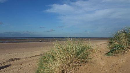 A lovely Autumn day on an almost deserted beach. Photo: Jason Whichelow
