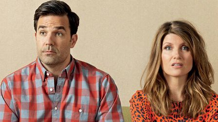 Catastrophe: Rob Delaney and Sharon Horgan's characters have the longest one-nght stand of all time