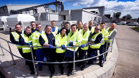 Anglian Water employees. Picture: Anglian Water