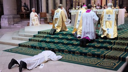 Deacon Jaylord Magpuyo became ordained in the Diocese of East Anglia. Picture: Keith Morris RCDEA.or