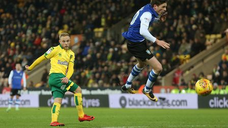 Alex Pritchard was a key figure in Norwich City's revival against Sheffield Wednesday. Picture: Pau