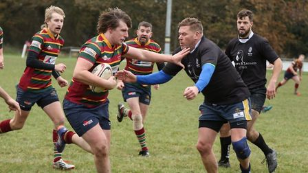 Stu Seppings in action for Norwich Lions. Picture: Andy Micklethwaite