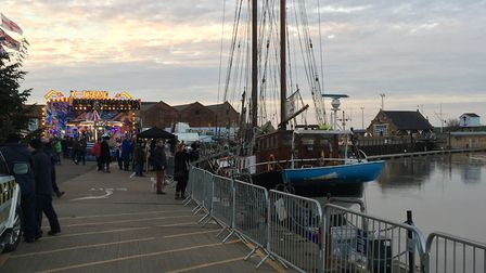 Wells Christmas Lights - Picture: Archant