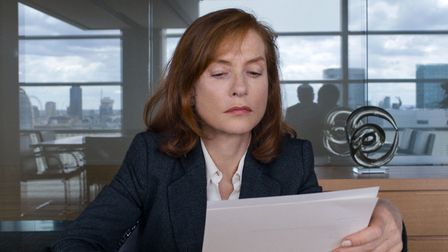 Isabelle Huppert as Anne in Michael Haneke's Happy End. Photo: Curzon