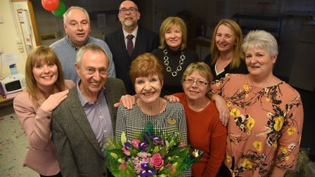 Julie Wittred's retirement from Boots in King's Lynn. Photo: Ian Burt