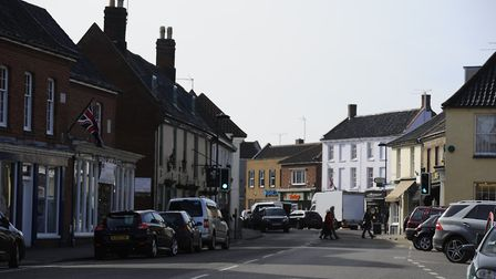 A new community hub could be created in Holt. This picture shows the town's Market Place. Picture: