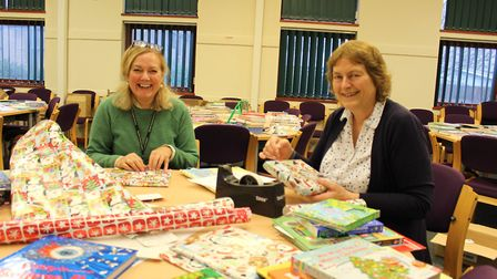 Juliet Stokes and Hilary Shaddock - advisers for Norfolk County Council's Virtual School for Childre