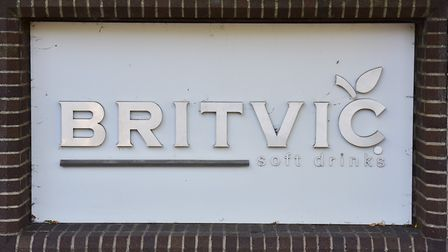 Entrance to the Norwich Britvic factory. Picture: Nick Butcher