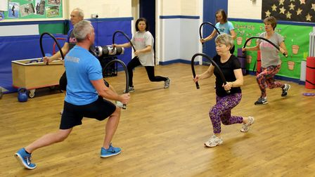 Aylsham Community Gym was given a grant to improve its service. Pictures: Norfolk County Council