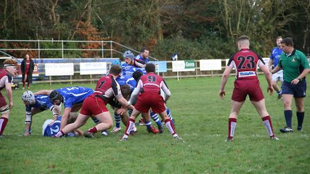 Diss recorded an excellent win at Mackenders. Picture: John Grist
