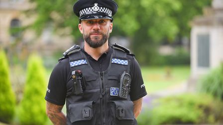 Op Apart is an operation combating retail theft in King's Lynn. Pictured is SGT Darryl Grief. Pictur