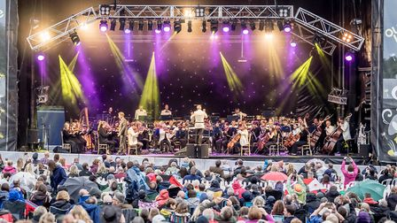 The Royal Philharmonic Concert Orchestra perform The Music of Bond as part of the Outside Live conce