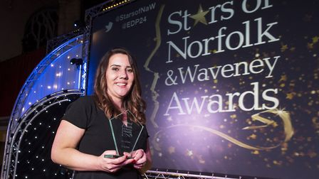 Eastern Daily Press Stars of Norfolk and Waveney Awards ceremony 2017 at St Andrews Hall, Norwich.O