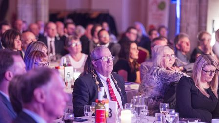 Eastern Daily Press Stars of Norfolk and Waveney Awards ceremony 2017 at St Andrews Hall, Norwich.P